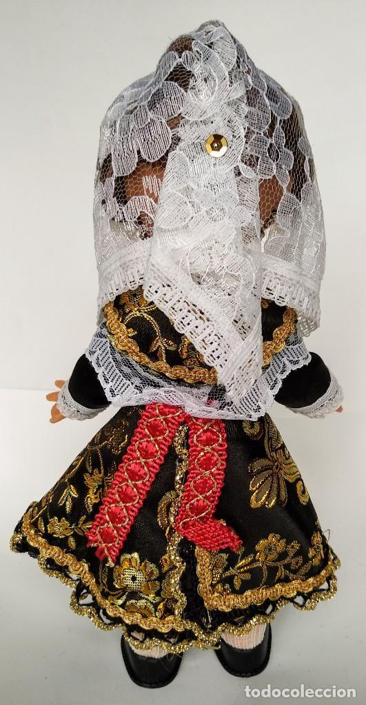 Muñecas Españolas Modernas: Muñeca Jotita 25 cm colección modelo Salmantina Charra Salamanca Folk Artesanía, nueva y original. - Foto 2 - 137485122