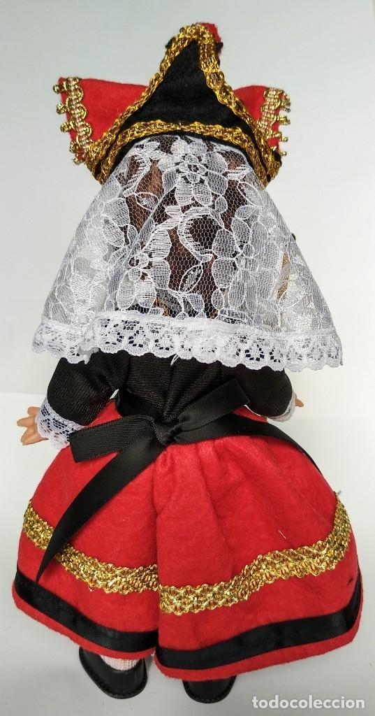 Muñecas Españolas Modernas: Muñeca Jotita 25 cm colección modelo Segoviana Folk Artesanía, nueva y original. - Foto 2 - 137485574