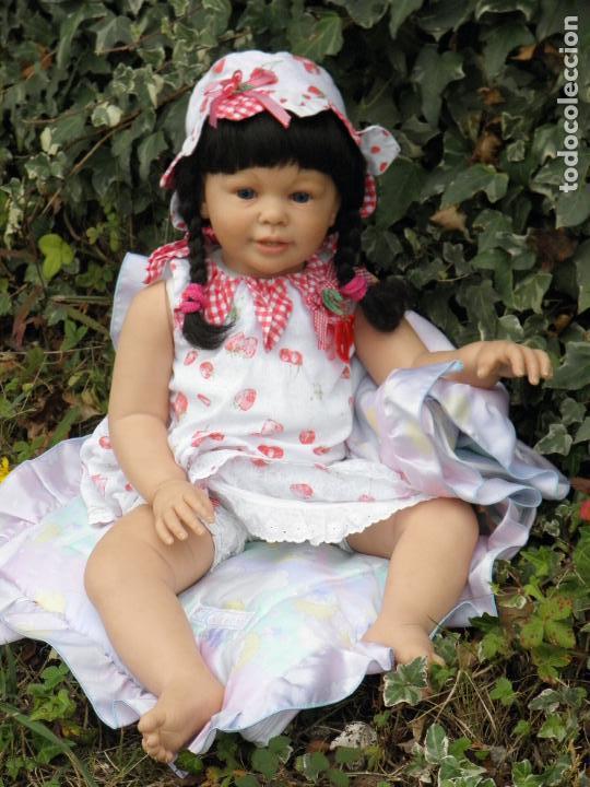 Muñecas Españolas Modernas: Muñeca Reborn Toddler Katie Marie de la artista Ann Timmerman - Foto 3 - 137659622