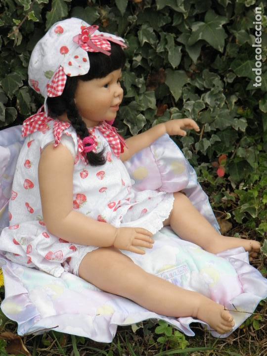 Muñecas Españolas Modernas: Muñeca Reborn Toddler Katie Marie de la artista Ann Timmerman - Foto 4 - 137659622