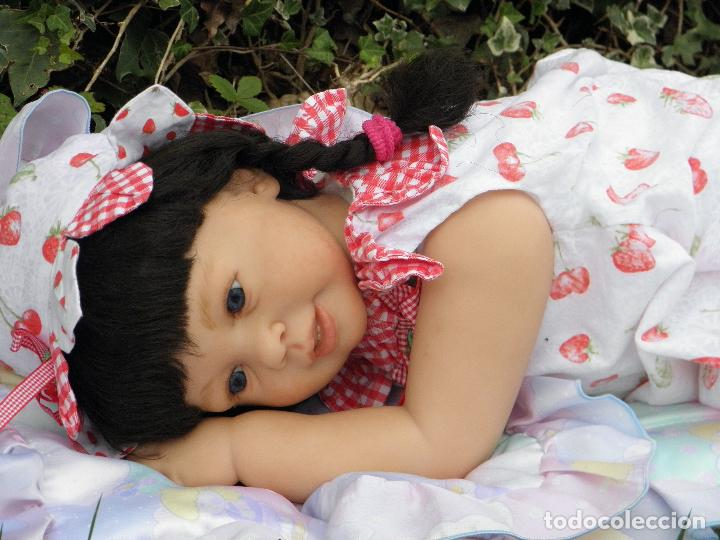 Muñecas Españolas Modernas: Muñeca Reborn Toddler Katie Marie de la artista Ann Timmerman - Foto 17 - 137659622