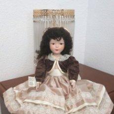 Muñecas Españolas Modernas: MUÑECA FANÁS. PORCELANA FINA Y PINTADA A MANO. AÑOS 60/70. Lote 138972202