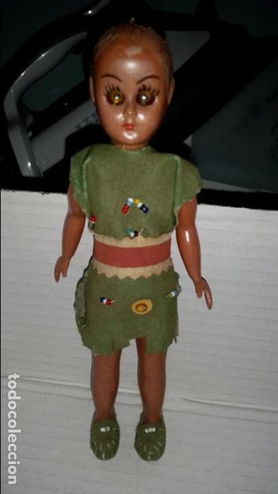 PEQUEÑA MUÑECA INDIA AMERICANA (Juguetes - Otras Muñecas Españolas Modernas)