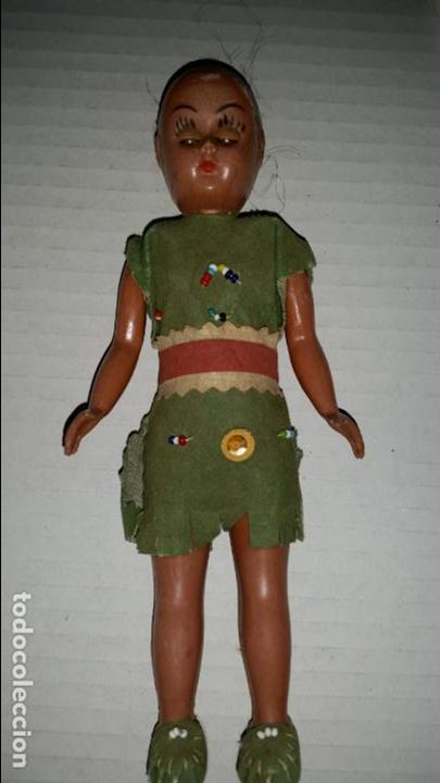 Muñecas Españolas Modernas: PEQUEÑA MUÑECA INDIA AMERICANA - Foto 2 - 139722274