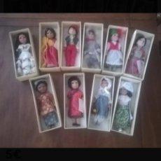 Muñecas Españolas Modernas: MUÑECAS DEL MUNDO. Lote 141433350