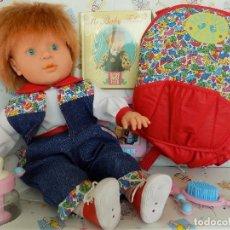 Bonecas Espanholas Modernas: BABY FEBER MOCHILA CANGURO. MARCA FEBER. NUEVO, A ESTRENAR. Lote 141512026