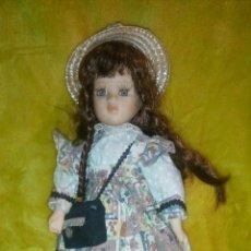 Muñecas Españolas Modernas: MUÑECA PORCELANA OJOS CRISTAL. Lote 142475812