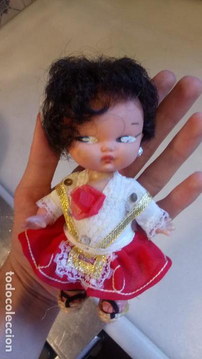 Muñecas Españolas Modernas: Antigua muñeca española con vestido tradicional - Foto 3 - 142784226