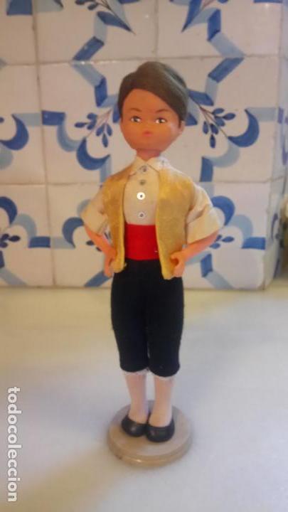 Muñecas Españolas Modernas: Antigua muñeca española BEIBI con vestido tradicional catalan o aragones / catalunya - Foto 5 - 142785458
