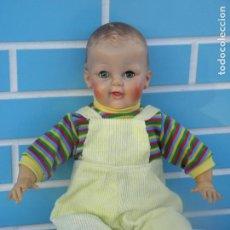 Muñecas Españolas Modernas: MUÑECO BEBÉ ANTIGUO AMERICANO. Lote 143900794