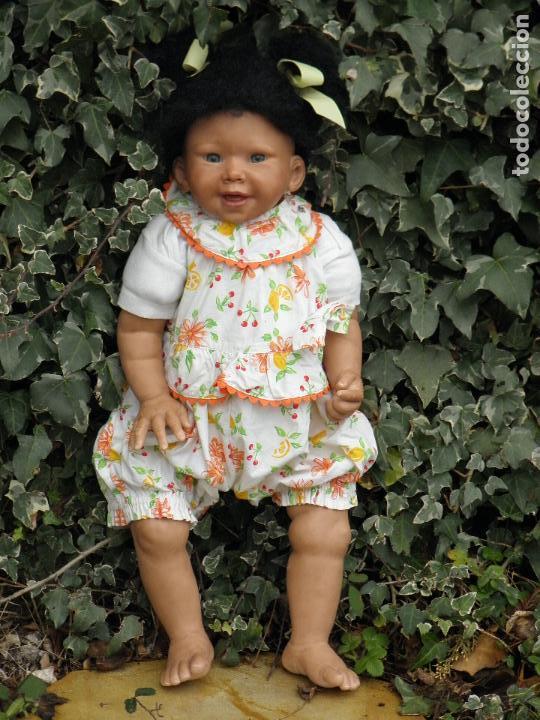 Muñecas Españolas Modernas: Muñeca Reborn Toddler negrita de Vikki Ebbeling - Foto 2 - 146954378