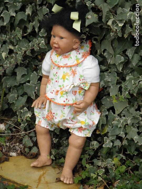 Muñecas Españolas Modernas: Muñeca Reborn Toddler negrita de Vikki Ebbeling - Foto 4 - 146954378