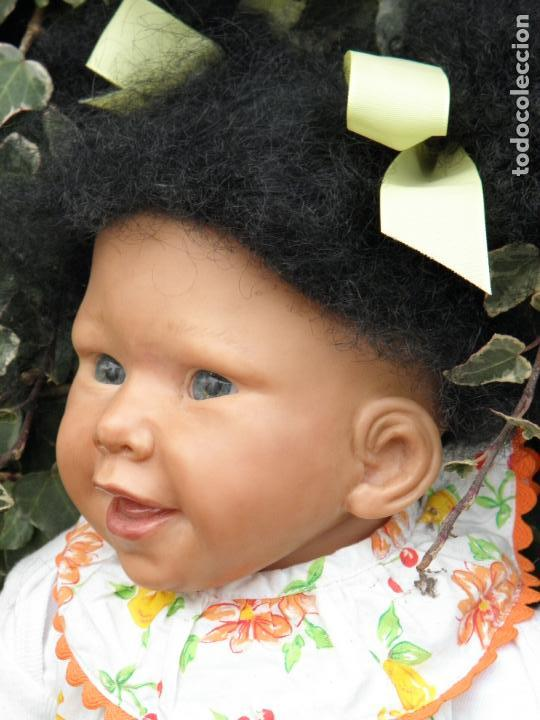 Muñecas Españolas Modernas: Muñeca Reborn Toddler negrita de Vikki Ebbeling - Foto 5 - 146954378