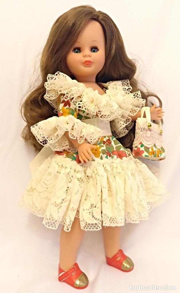Muñecas Españolas Modernas: Muñeca KIKA Nº23 de nueva coleccion,pelo extralargo castaño claro - Foto 6 - 147450250