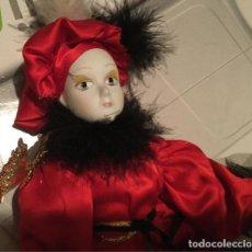 Muñecas Españolas Modernas: MUÑECO DE PORCELANA ANTIGUO AÑOS 80. Lote 150162386