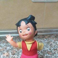 Muñecas Españolas Modernas: MUÑECA HEIDI A CUERDA ZUIYO. Lote 150658222