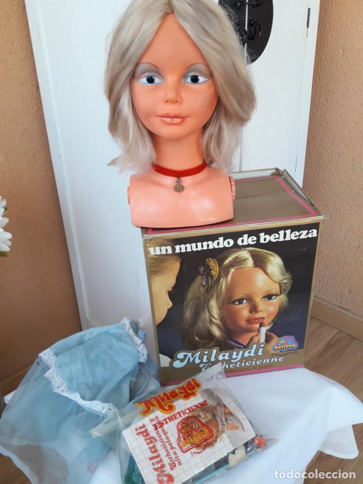 MILAYDI DE BERJUSA ESTHETICIENNE CON SU CAJA ORIGINAL (Juguetes - Otras Muñecas Españolas Modernas)