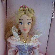 Muñecas Españolas Modernas: PRINCESA AURORA - LA BELLA DURMIENTE - PRINCESAS DISNEY DE PORCELANA - PLANETA DEAGOSTINI. Lote 151113746