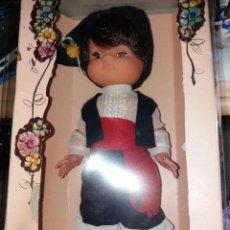Muñecas Españolas Modernas: MUÑECA REGIONAL EDA DURA - EN SU CAJA. Lote 151304082