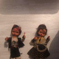 Muñecas Españolas Modernas: PAREJA DE MUÑECOS REGIONALES ESPAÑOLES DE TRAPO. Lote 151315885