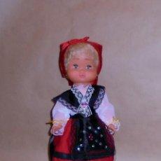 Muñecas Españolas Modernas: MUÑECA BERTINA DE MIBER REGIONAL GALLEGA GALICIA - AÑOS 60 . Lote 151324122