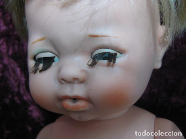 Muñecas Españolas Modernas: años 70 - gran BEBE marca TOYSE made in spain con algún defecto. ver fotos - Foto 3 - 151509094