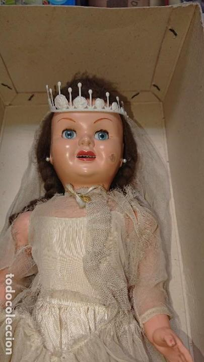 Muñecas Españolas Modernas: ANTIGUA MUÑECA TERESIN NOVIA DE EDA ENRIQUE DURA AMOROS - AÑOS 50 - Foto 2 - 151525514