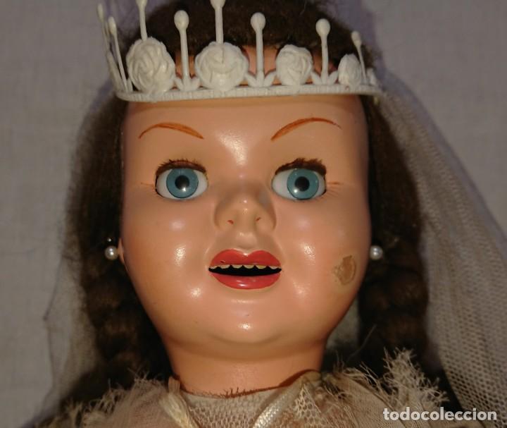 Muñecas Españolas Modernas: ANTIGUA MUÑECA TERESIN NOVIA DE EDA ENRIQUE DURA AMOROS - AÑOS 50 - Foto 11 - 151525514