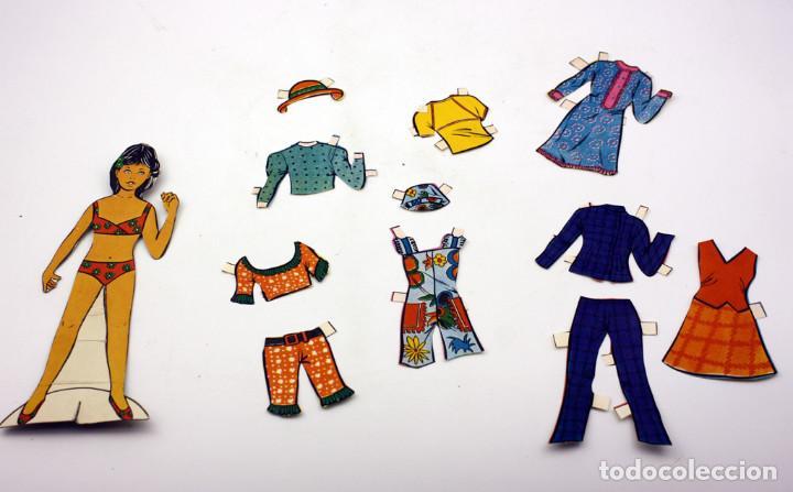 Accesorios Con De Y Antigua Varios Muñeca Vestidos Papel edCBrxoEQW