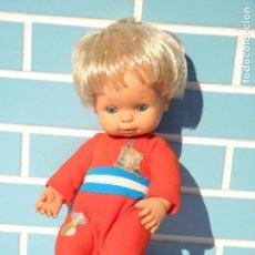 Muñecas Españolas Modernas: MUÑECO ANTIGUO BABY MOCOSETE DE TOYSE. Lote 152291322