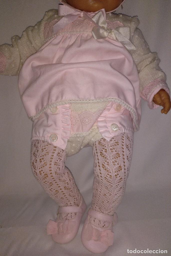 Muñecas Españolas Modernas: Muñeca de 65 cm de Onil,años 90.El conjunto es nuevo - Foto 8 - 153328086
