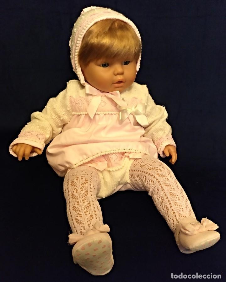 Muñecas Españolas Modernas: Muñeca de 65 cm de Onil,años 90.El conjunto es nuevo - Foto 11 - 153328086