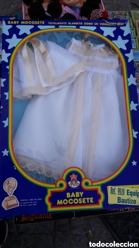 EQUIPO BAUTIZO PARA BABY MOCOSETE (Juguetes - Otras Muñecas Españolas Modernas)