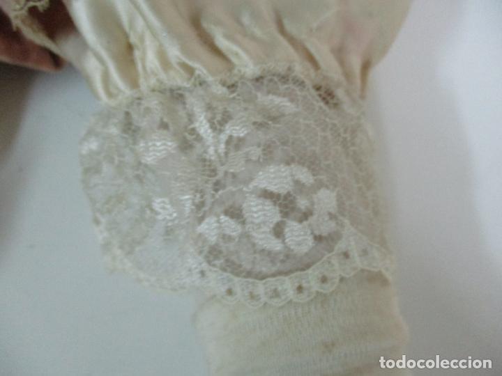 Muñecas Españolas Modernas: Bonita Muñeca Ramón Ingles - Porcelana Biscuit, Cuerpo Cartón Piedra - Cabello Natural -70 cm Altura - Foto 6 - 154918002