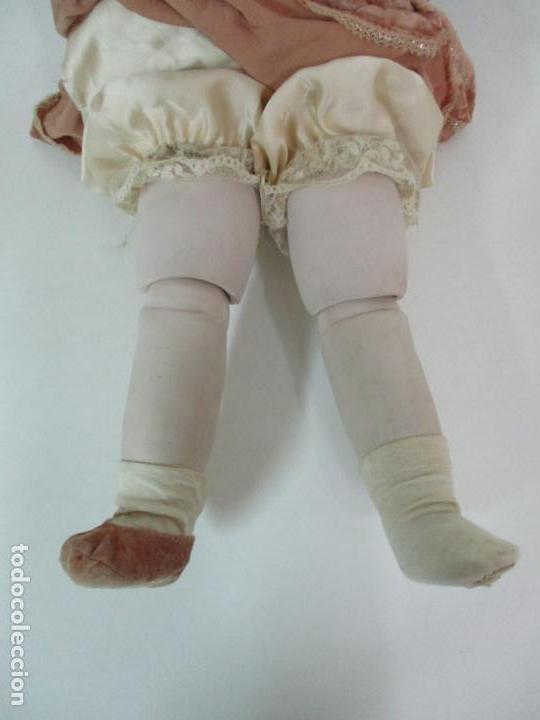 Muñecas Españolas Modernas: Bonita Muñeca Ramón Ingles - Porcelana Biscuit, Cuerpo Cartón Piedra - Cabello Natural -70 cm Altura - Foto 20 - 154918002
