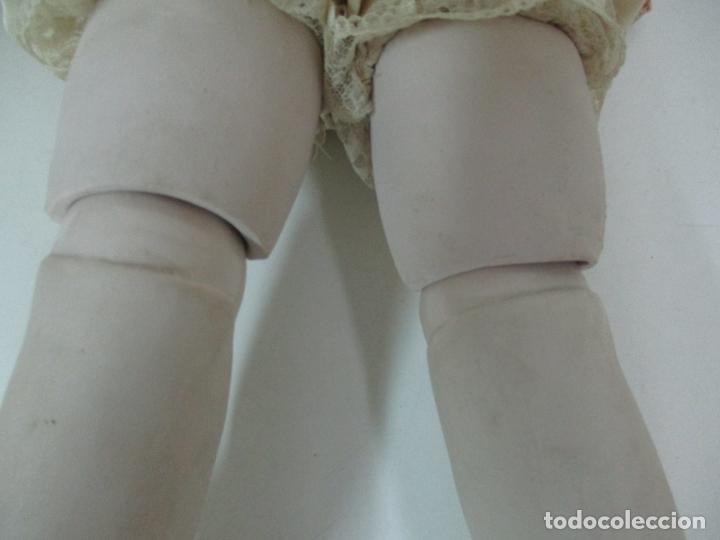 Muñecas Españolas Modernas: Bonita Muñeca Ramón Ingles - Porcelana Biscuit, Cuerpo Cartón Piedra - Cabello Natural -70 cm Altura - Foto 21 - 154918002