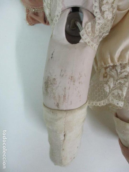 Muñecas Españolas Modernas: Bonita Muñeca Ramón Ingles - Porcelana Biscuit, Cuerpo Cartón Piedra - Cabello Natural -70 cm Altura - Foto 22 - 154918002