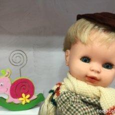 Muñecas Españolas Modernas: BABY MOCOSETE DE TOYSE CON CONJUNTO ABRIGO COMPLETO. Lote 156647854