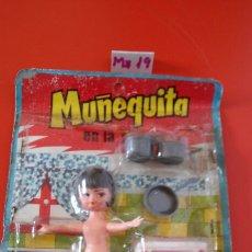 Muñecas Españolas Modernas: BLISTER MUÑEQUITA (10 CM) EN LA COCINA.SHAMBERS 70S. SHAMBER'S.. Lote 156656413