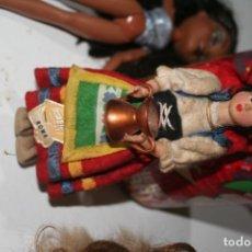 Muñecas Españolas Modernas: ANTIGUA MUÑECA MUÑECO REGIONAL ROMA CARA FIELTRO . Lote 156909050