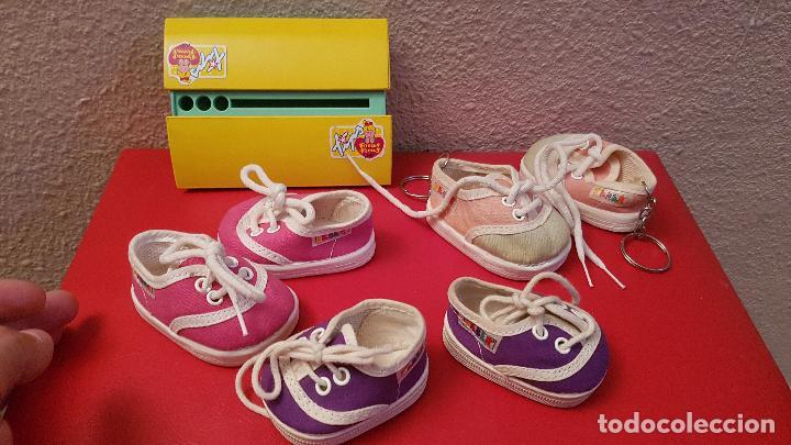 Zapatos Denenas Guapas Tips Juego Juguete Vintage Pecas Lote Muñeca Feber Zapatillas Estuche Pocas mNwn0v8