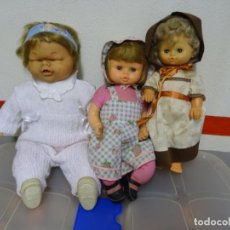 Muñecas Españolas Modernas: 2 - LOTE DE 3 MUÑECAS JESMAR. Lote 158019498