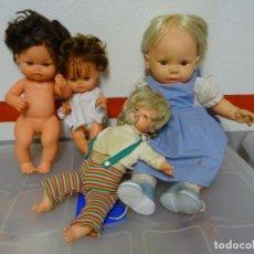 Muñecas Españolas Modernas: 2 - LOTE DE 3 MUÑECAS VICMA. Lote 158019690