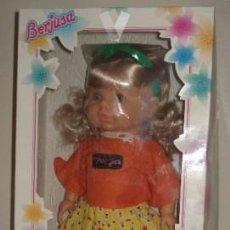 Muñecas Españolas Modernas: BERJUSA CREACIÓN. PRECIOSA MUÑECA EN SU CAJA ORIGINAL. NUEVA. Lote 158899190