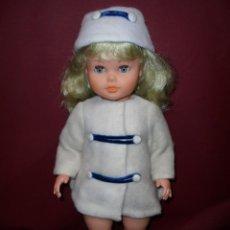 Muñecas Españolas Modernas - magnifica muñeca antigua de principios de los años 60 plastico duro ojos durmientes - 163221366