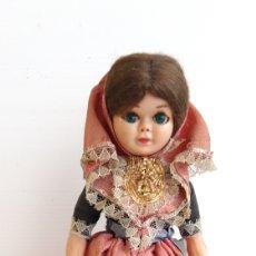 Muñecas Españolas Modernas: ANTIGUA MUÑECA REGIONAL 22 CM. Lote 163352810