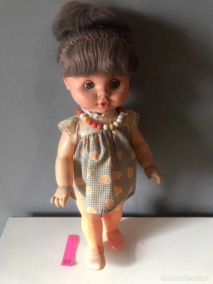 ANTIGUA MUÑECA ESPAÑOLA AÑOS 60 - 70 (Juguetes - Otras Muñecas Españolas Modernas)