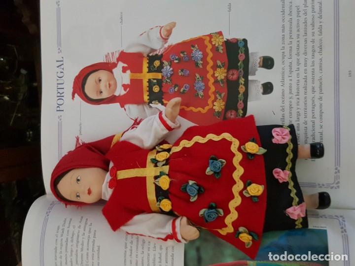 Muñecas Españolas Modernas: MUÑECAS DEL MUNDO. COLECCIÓN COMPLETA DE MUÑECAS CON TRES LIBROS ENCUADERNADOS. - Foto 4 - 165363862