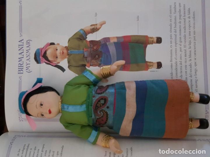 Muñecas Españolas Modernas: MUÑECAS DEL MUNDO. COLECCIÓN COMPLETA DE MUÑECAS CON TRES LIBROS ENCUADERNADOS. - Foto 6 - 165363862