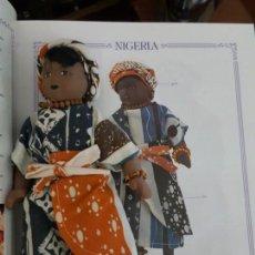 Muñecas Españolas Modernas: MUÑECAS DEL MUNDO. COLECCIÓN COMPLETA DE MUÑECAS CON TRES LIBROS ENCUADERNADOS.. Lote 165363862